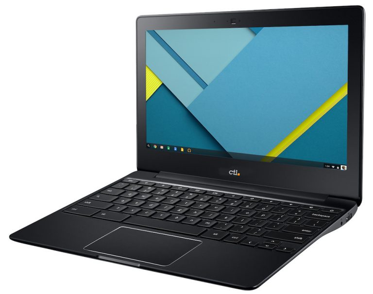 The CTL J2 Chromebook