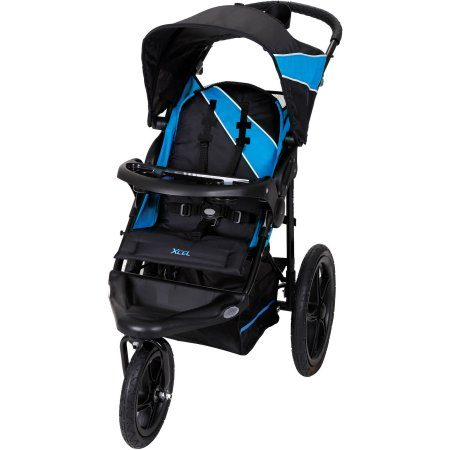 Baby Trend Xcel Jogger Stroller, Mosaic Blue
