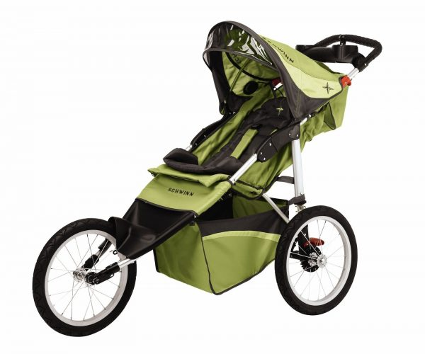 Schwinn Arrow Fixed Wheel Jogging Stroller - Jogging Strollers