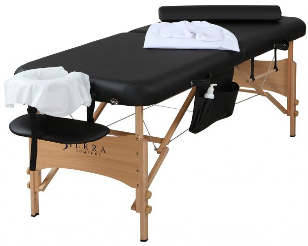 Sierra Comfort All Comprehensive Portable Massage Table