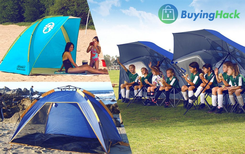 A beach tent could make a day at the seashore otherwise an outside picnic a pleasant plus safer experience for the whole family.A beach tent through the ... & Top 15 Best Beach Tents in 2018 Review