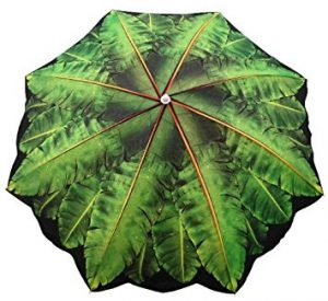 6.5′ Banana Leaf Umbrella_15 best beach umbrella