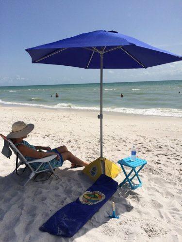 BeachBUB™ All-In-One Beach Umbrella System'16 (includes BUBrella, BeachBUB Base & Accessory Kit)