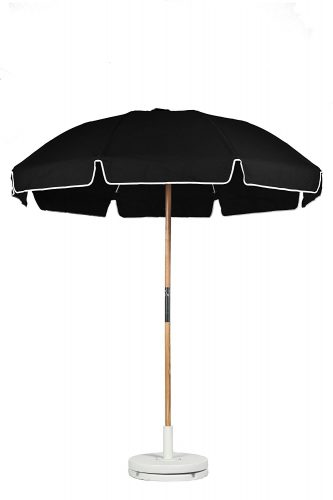 Frankford Umbrellas 7.5 ft. Fiberglass Rib Commercial Grade Umbrella with Ash Wood Pole/Sand Anchor