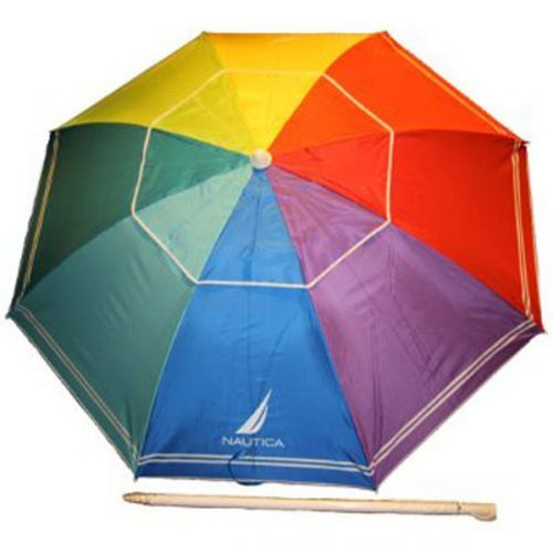 Nautica Beach Umbrella with UPF 50+