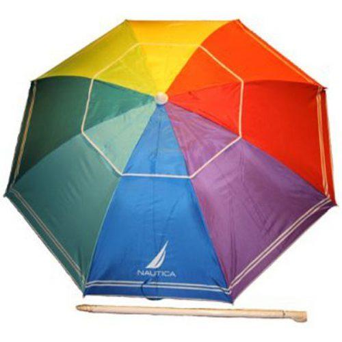 Nautica Beach Umbrella with UPF 50+