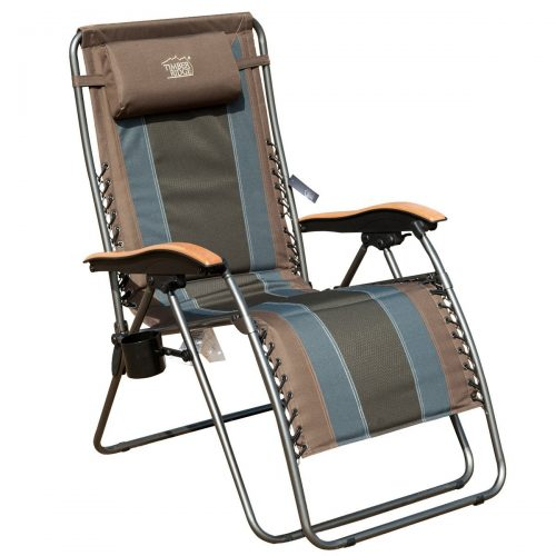 TimberRidge Oversized XL Padded Zero Gravity Chair