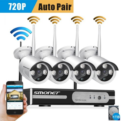 SMONET 4CH 720P - security-alarm