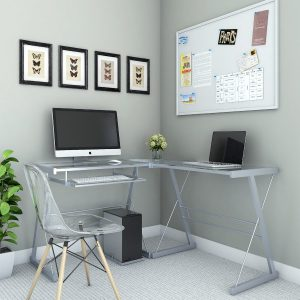 The Madison 3-Piece Corner Computer Desk from Ryan Rove - Office Desks