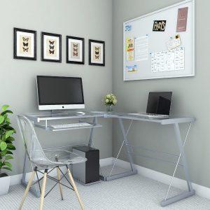 The Madison 3-Piece Corner Computer Desk from Ryan Rove