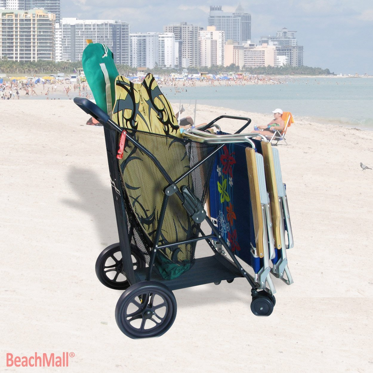The Rio Wonder Wheeler Plus WWWC5-4670 Model-Beach Carts