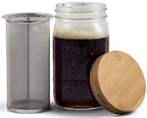 The Simple Life Cycle Mason Jar Cold Brew Coffee System