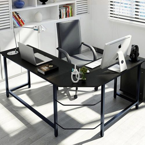 The Tribesigns L-Shaped Desk - Office Desks