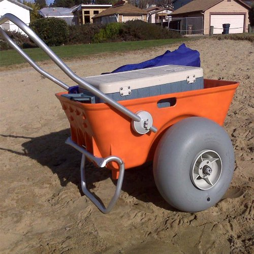 The Wheeleez Heavy Duty Beach Cart-Beach Carts