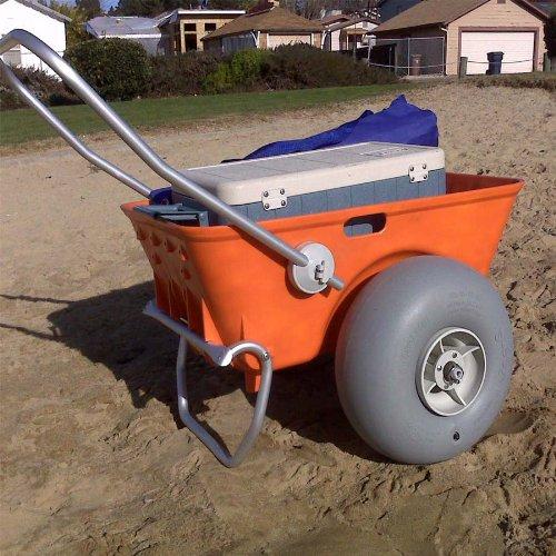 The Wheeleez Heavy Duty Beach Cart