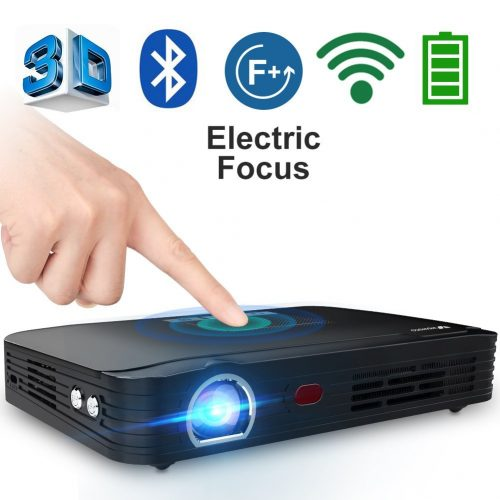 WOWOTO T8E Multimedia Projector - Projectors under 1000
