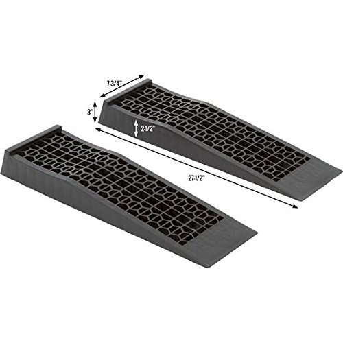 6009-V2 Plastic Car Service Ramp, 2 Pack