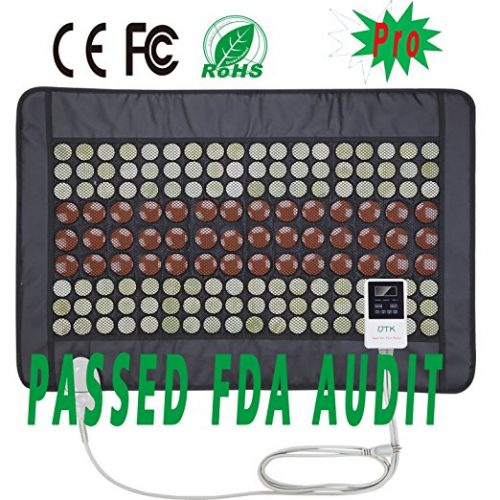 UTK® Far Infrared Natural Jade &Tourmaline Heating Pad for Pain Relief, Medium Plus (21'' x 38'') - Infrared Heat