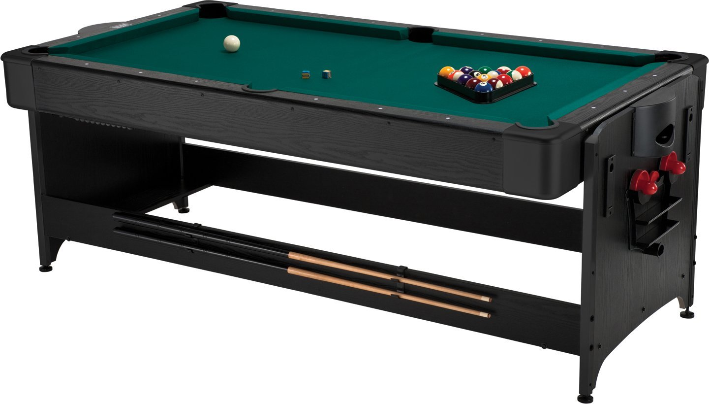 Fat Cat Pockey 7ft Black 3-in-1 - Outdoor Pool Table