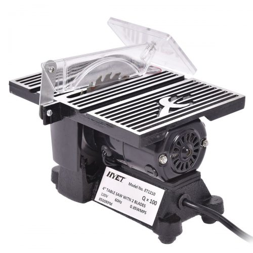 "Goplus 4"" Mini Electric Table Saw Tablesaw 8500 RPM Hobby and Craft Power Tools - Mini Table Saws"