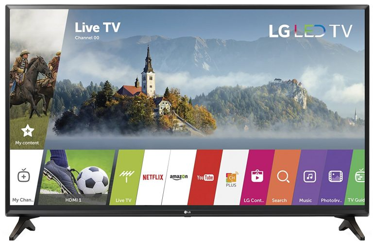 LG Electronics 720p Smart LED TV - Small TVs