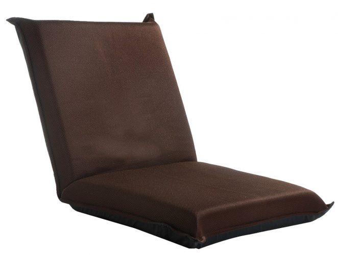 Merax Floor Chair Lazy Man Sofa Chair Home Essential Lovers Folding Sofa Chair (blue) -