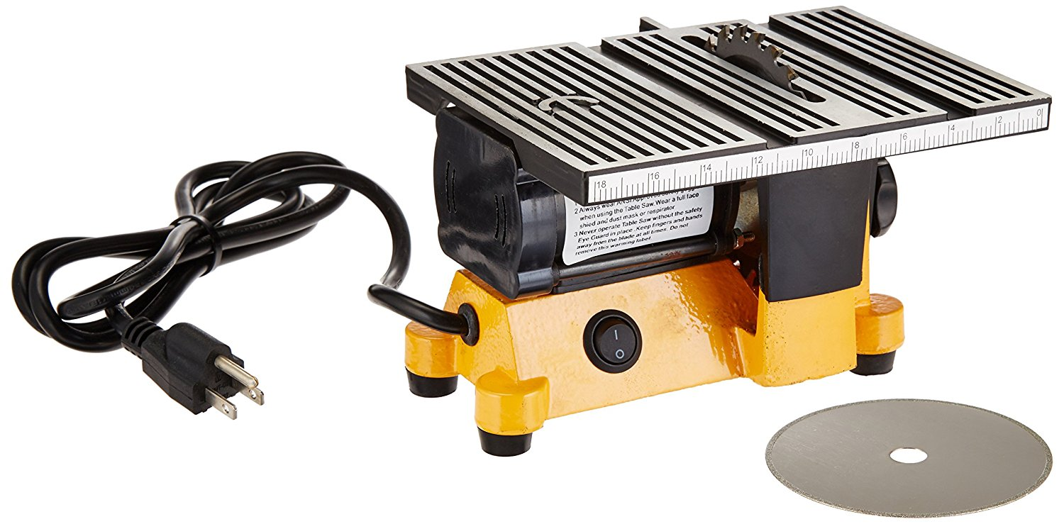 Outdoor Sport 01-0819 Mini Electric Table Saw - Mini Table Saws