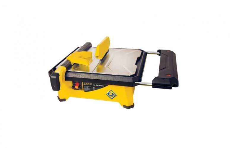 QEP 22650Q 650XT Tile Saw for Wet Cutting of Ceramic and Porcelain Tile - Mini Table Saws