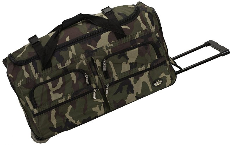 Rockland Luggage 36 Inch Rolling Duffle Bag