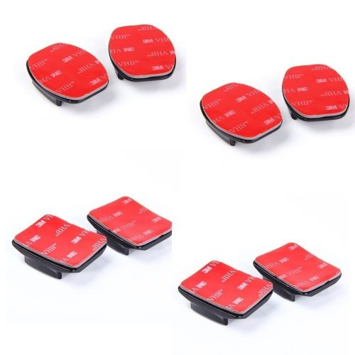 Aketek 4pcs Curved+4pcs Flat Adhesive Mounts Sticky for GoPro Hero Cameras - GoPro Helmet Mount
