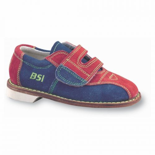 BSI Boy's Suede Rental Bowling Shoes- Hook and Loop - Bowling Shoes