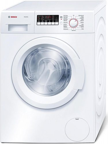 Bosch WAP24200UC 300 2.2 Ft. White Stackable Front Load Washer - Energy Star - Front Load Washers