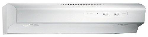 Broan QS130WW 220 CFM Under Cabinet Hood, 30-Inches, White - Range Hoods