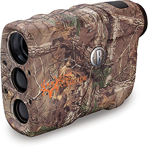 Bushnell 202208 Bone Collector Edition 4x Laser Rangefinder, RealtreeXtra Camo, 20mm - Laser Rangefinders