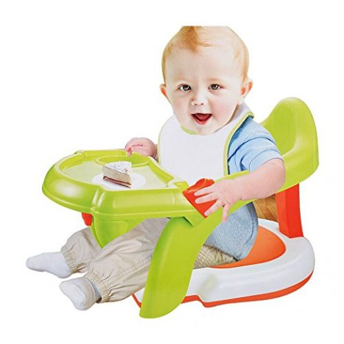 COLORTREE 2 In1 Baby Bath Tub Chair Shower Chair Dining Booster Seat for Toddler - Baby Bath Seats
