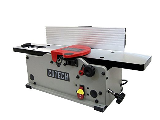 "Cutech 40160H-CT 6"" Bench Top Spiral Cutterhead Jointer - Benchtop Jointer"