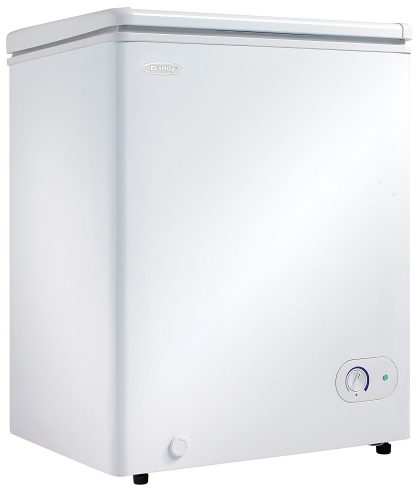 Danby DCF038A1WDB1 Chest Freezer, 3.8 Cubic Feet, White - Deep Freezers