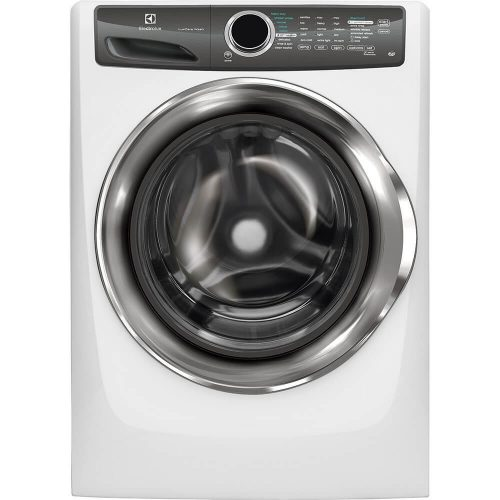 """Electrolux EFLS517SIW 27"""" Energy Star Front-Load Washer with 4.3 cu.ft. Capacity. Perfect Steam LuxCare Wash System Sanitize Option and StainTreat: Island - Front Load Washers"""