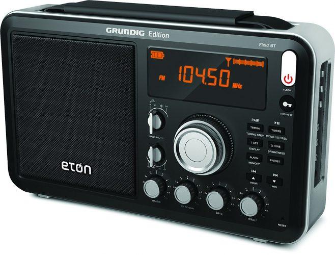 Eton Field – World Band Radio with Bluetooth - shortwave radios