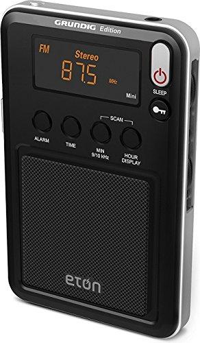 Eton Mini Compact AM/FM/Shortwave Radio, Black (NGWMINIB) - shortwave radios
