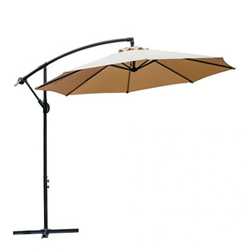 Farland 10 Ft Offset Cantilever Patio Umbrella - Offset Patio Umbrellas
