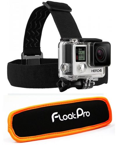 FloatPro 2-in-1 Head Strap Mount and Detachable Floaty for GoPro - Best GoPro Head Mount