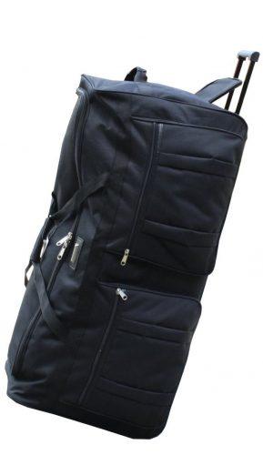 ICE USA 36-inch Wheeled Cargo Outdoor Mountain Hockey Duffle Bag - Rolling Duffel Bags