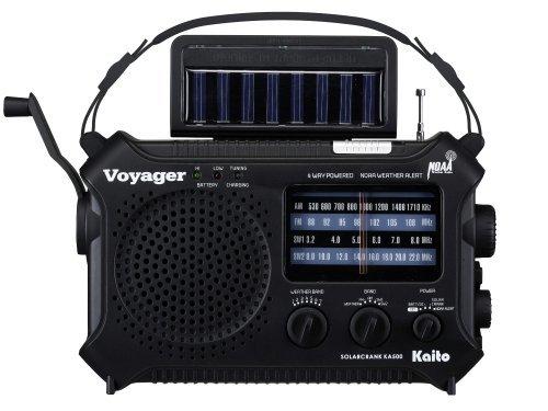 Kaito KA500 5-way Powered Solar Power - shortwave radios