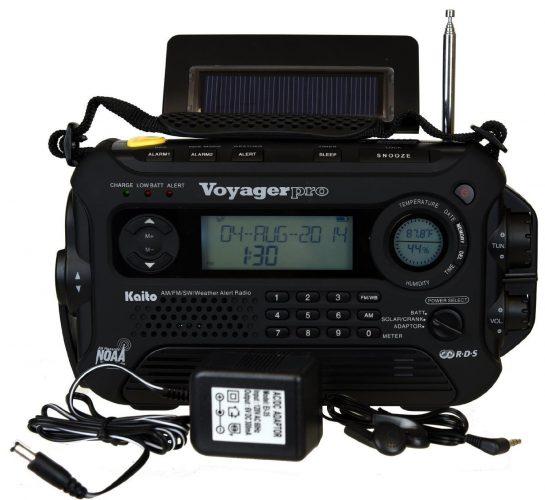 Kaito Voyager Pro KA600 Digital Solar Dynamo - shortwave radios