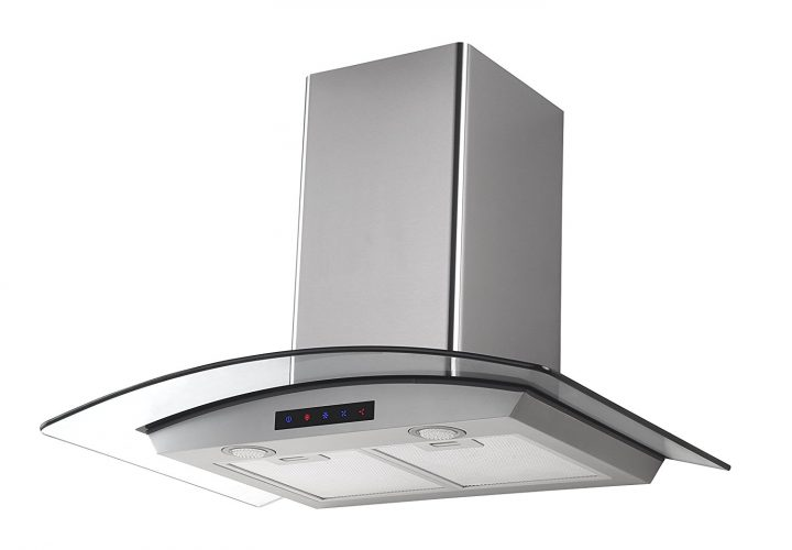 Kitchen Bath Collection HA75-LED Stainless Steel Wall-Mounted Kitchen Range Hood - Range Hoods