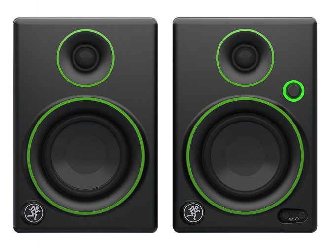 "Mackie CR Series CR3 - 3"" Creative Reference Multimedia Monitors - Bookshelf speakers"