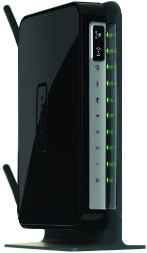Netgear N300 WiFi DSL Modem Router (DGN2200) - AT&T Approved DSL Modems