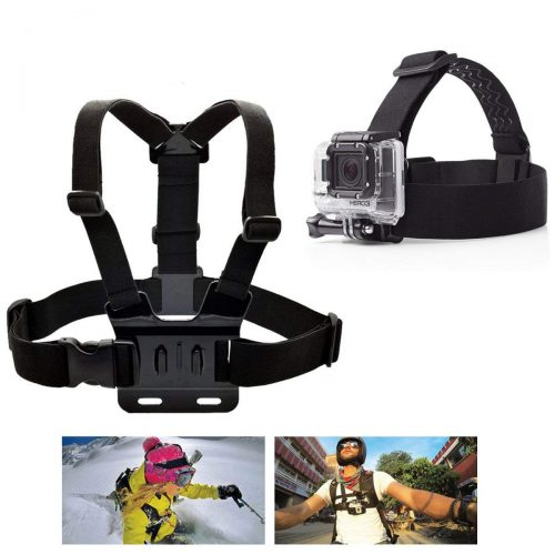 PANNOVO Head Strap Chest strap Mount Accessories Kits