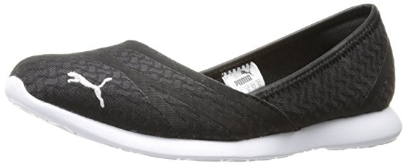 PUMA Women's Vega Ballet Flume Walking Flat - Walking Shoes